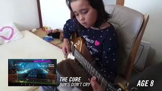 Audrey Shida learned how to play guitar exclusively with Rocksmith, starting at age 8. This is her story. Learn more about how it works at Rocksmith.com. Watch ...