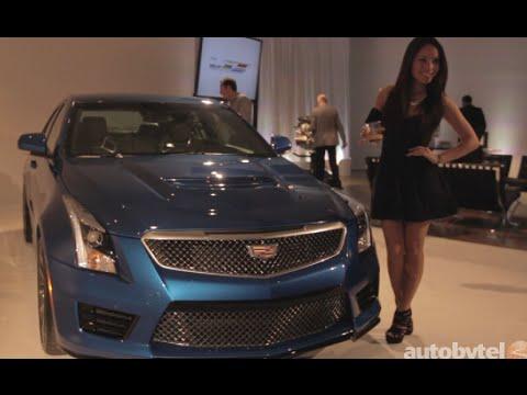 LA Auto Show: Designing the Cadillac ATS-V