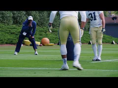 Video: #GTSpring18: Mic'd Up with Coach Lamar Owens