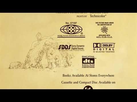 The tigger movie end credits 360