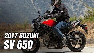8. 2017 SUZUKI SV650 SPEC