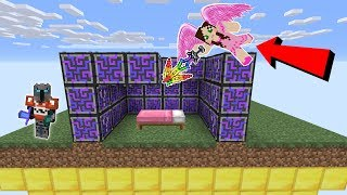 Minecraft: *OVERPOWERED* FUTURE LUCKY BLOCK BEDWARS! - Modded Mini-Game