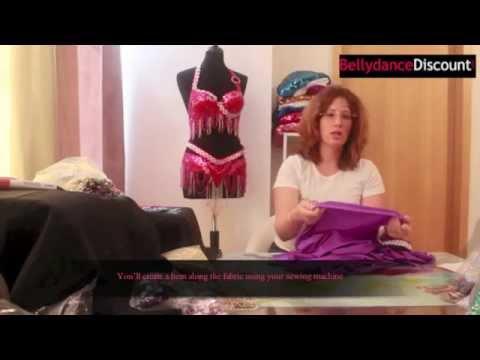 TUTO création Costume de danse orientale : soutien-gorge + jupe