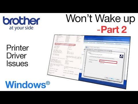 Fix Brother print failure – Windows® – part 2