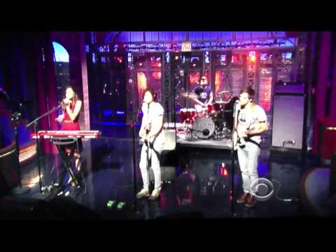 Local Band on Letterman