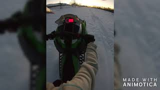 10. Arctic cat m8000 141'' wheelie