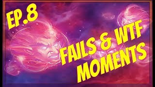 Hearthstone Fails and WTF moments daily Ep.8