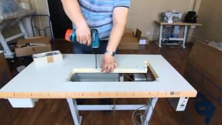 Стол для промышленной швейной машины своими руками