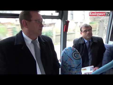 Посланик тества електробус във Враца