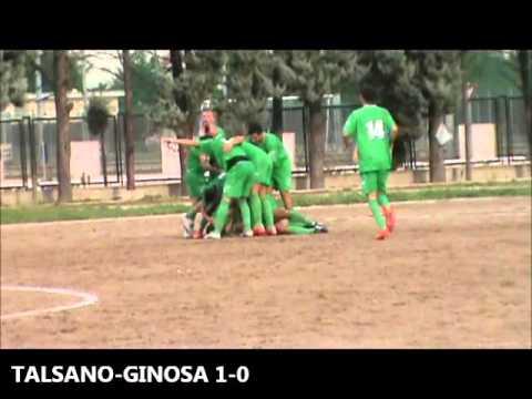 Preview video <strong>TALSANO-GINOSA 1-0 Prestazione sottotono a Talsano</strong>