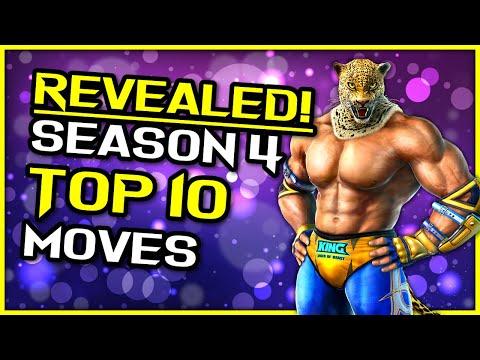 REVEALED! ~ King's Top 10 Moves In Season 4 ~ Tekken 7 King Guide