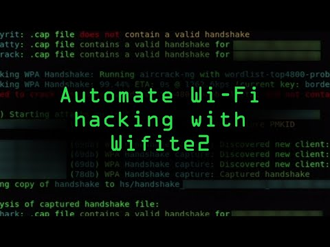 Automate Wi-Fi Hacking with Wifite2 in Kali Linux [Tutorial]