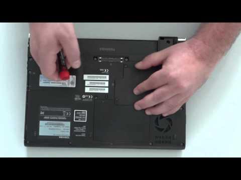 , title : 'Toshiba Portégé R930 Memory Replacement'
