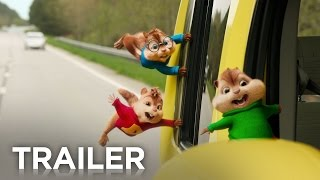 'Alvin And The Chipmunks'The Road Chip Trailer