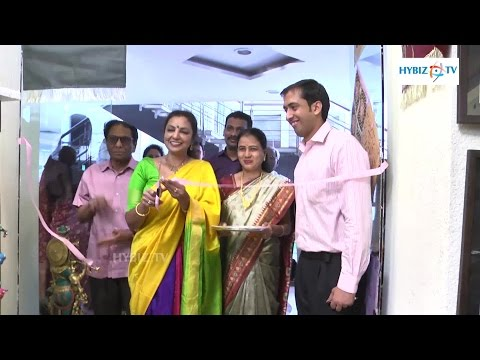Exhibition Of Fine Cotton Sarees At Greenlands Hyderabad - Hybiz.tv