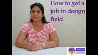 HOW TO GET A JOB IN DESIGN FIELD