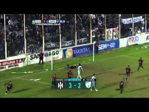 Todos los goles. Fecha 23. B Nacional 2015.