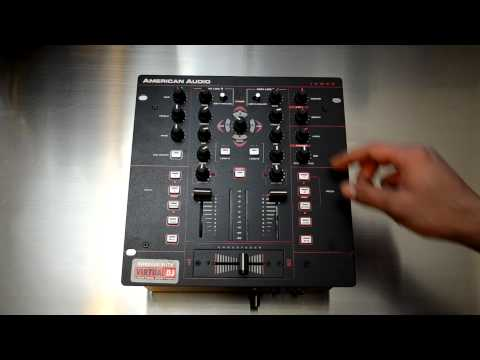American Audio MXR-10 Professional DJ Mixer/Controller HD-Video Review