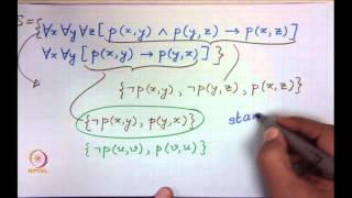 Mod-01 Lec-29 Resolution In FOL