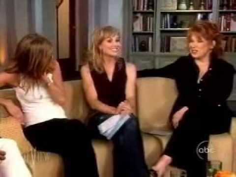 Jennifer Aniston The view (june 2, 2006) part 2