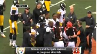 Bengals' Andrew Whitworth: Bengals-Steelers fight is NFL's fault Cincinnati Bengals offensive tackle Andrew Whitworth didn't hold back after Sunday's game ...