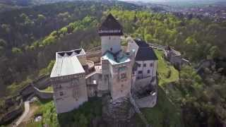 Trencin Slovakia  city pictures gallery : Trenčín Castle | FPV Slovakia *Fixed