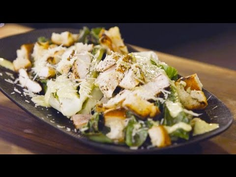Grilled Chicken Caesar Salad – Grill This with Nathan Lippy