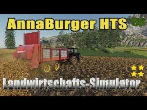 AnnaBurger HTS Manure spreader v1.0