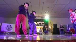Funky Bee (Ringo Winbee & Yu-to) vs Jiggy Funk (優弥 & YouTee) – WDC 2019 TOHOKU POP FINAL
