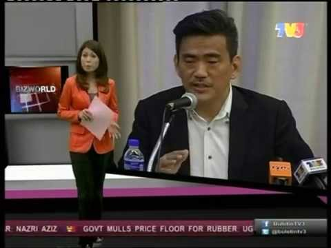 TV3 Interview: Dato Sri Gavin Tee - Impact of MH370 on Tourism & Real Estate in Malaysia