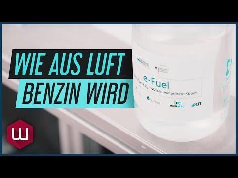 e-Fuels – Kraftstoff aus CO2, grünem Strom und Wasser