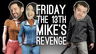 Jason returns! We're back in Friday the 13th and Mike has a shot at bloody revenge as Jason in this Friday the 13th The Game Xbox One gameplay. Who will get put on a coathook? Who will get trapped in his own trap? And where the hell are the car keys? Watch and see, and subscribe for more Friday the 13th The Game on Outside Xbox: http://www.tinyurl.com/SubToOxboxPreviously on Outside Xbox:Friday The 13th Game: CAN WE SURVIVE A HORROR MOVIE?https://youtu.be/CuSBiApXxiQFriday the 13th, out now on Xbox One, PC and PS4, has a proximity-based voice chat system in which you can hear other players if they are close to you on the in-game map. In the Friday the 13th: The Game gameplay above, for the purposes of this video, Outside Xbox is in a party with voice chat - except for when Mike plays as Jason, when only Jane and Andy are in voice chat together, so they can secretly discuss their plan to look endlessly in drawers for the fricking car keys.  ---Outside Xbox brings you daily videos about videogames, especially Xbox One games and Xbox 360 games. Join us for new gameplay, original videos, previews, lists, Show of the Week and other things (ask us about the other things). Thanks for watching and be excellent to each other in the comments. Find us at http://www.outsidexbox.comSubscribe to us at http://www.youtube.com/outsidexbox Like us on Facebook at http://www.facebook.com/outsidexboxFollow us on Twitter at http://www.twitter.com/outsidexboxPut a t-shirt on your body http://www.outsidexbox.com/tshirts