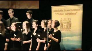 Chór SK w Koszalinie - Błogosławiony człowiek - psalm 1