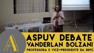 Palestra sobre mulheres na ciência - prof. Vanderlan Bolzani (SBPC)