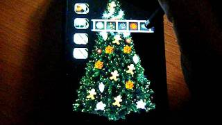 Christmas MyTree LiveWallpaper YouTube video