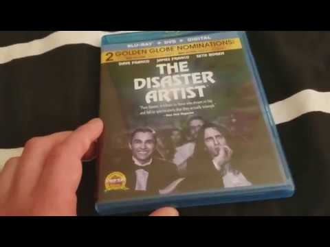 The Disaster Artist Blu Ray Unboxing