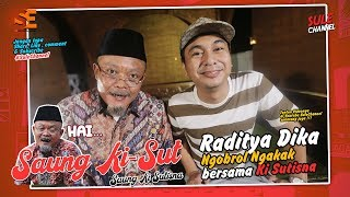 Video Raditya Dika & Netijen yang Terlalu Kepo! - Saung  KiSut (Ki Sutisna) MP3, 3GP, MP4, WEBM, AVI, FLV Februari 2019