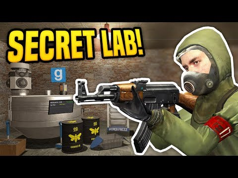 I BUILT A SECRET LAB UNDERGROUND - Gmod DarkRP | Advanced Chemist Build!