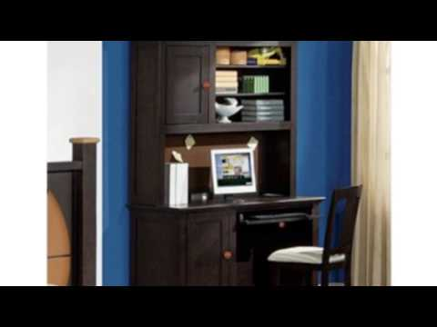 Video View the latest video of Allstar 55 W Computer Desk With Hutch