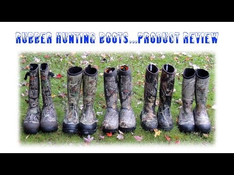 Rubber Hunting Boots...Comparison Review
