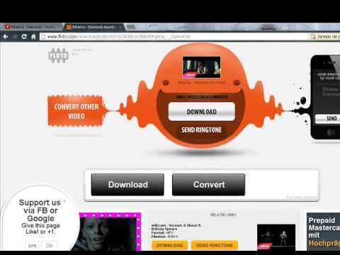 Wie man videos und lieder von youtube runterladen kann online