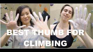 HOW TO CLIMB WITH WEIRD THUMBS by Bouldering DabRats