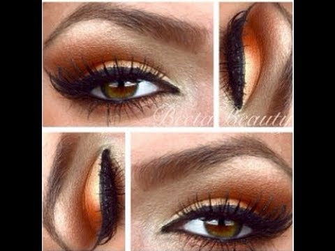 Eyeshadow Tutorial-How To Apply Warm Bronze Colors