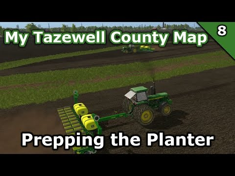 My Tazewell County Map | 8 | Planting Prep | More Realistic Multiplayer Series with Seasons