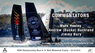 10. December 16th 2018 - Race 4 NSW Championship