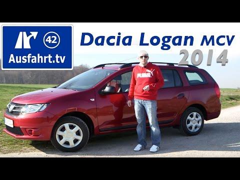 2014 Dacia Logan MCV : Fahrbericht der Probefahrt / Test / Review