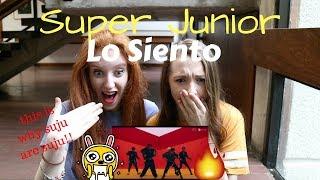 Video SUPER JUNIOR (슈퍼주니어) - LO SIENTO (FT. LESLIE GRACE) MV REACTION MP3, 3GP, MP4, WEBM, AVI, FLV Juli 2018
