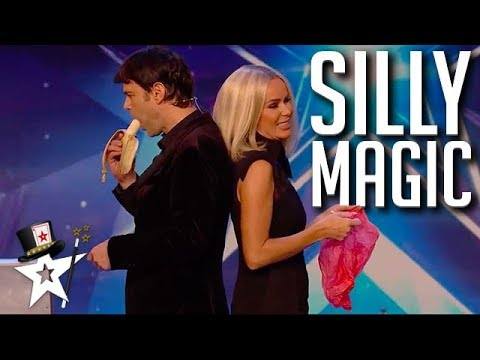 Judges Can't Stop Laughing At This Magician! | Magicians Got Talent