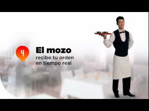 Video of Hey! El primer mozo virtual
