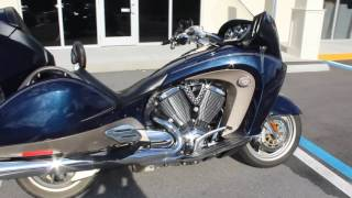 7. 2010 Victory Vision Tour Bagger Touring Motorcycle For sale Walk Around